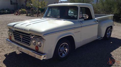 dodge truck beds 1966 dodge d 100 short bed stepside pickup truck