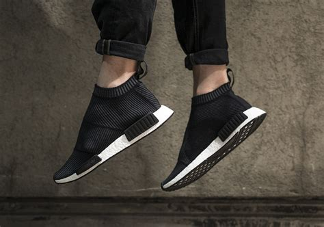 Sepatu Adidas Nmd Black White Anmd Bw adidas nmd city sock black winter wool sneaker bar detroit