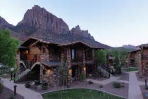 zion lodge images