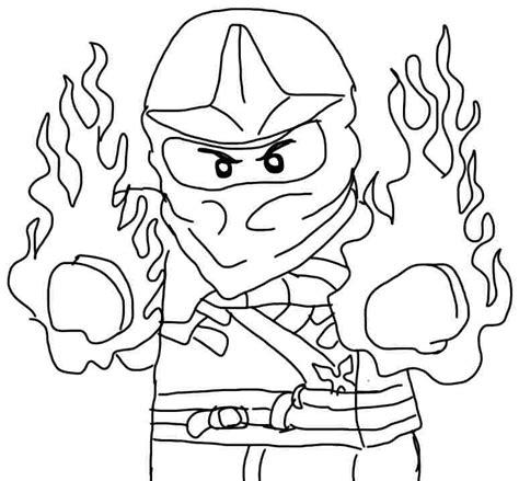 free coloring pages of ninjago cartoons