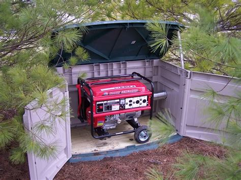soundproofing materials needed for an outdoor generator
