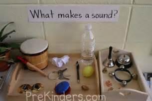 pre k science sound prekinders