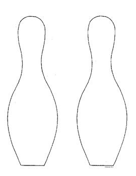 pin bowling pin template clip art cake on pinterest long