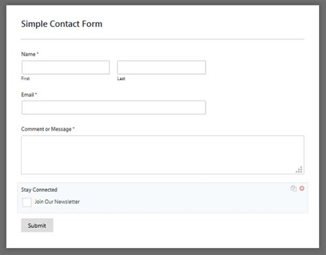 How To Add An Aweber Signup Checkbox To Your Contact Form Aweber Signup Form Templates