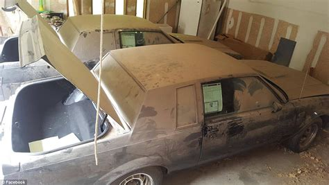 1987 buick grand nationals found neglected in garage