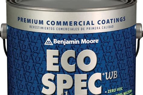 eco spec paint benjamin moore eco spec wb silver architect magazine