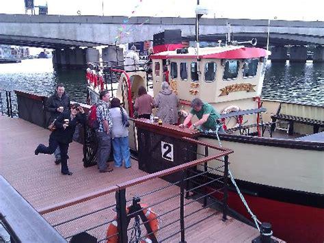 titanic quarter boat tour all aboard picture of titanic boat tours belfast
