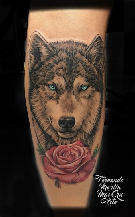wolf and rose tattoo 50 best mis trabajos tattoos images on gray
