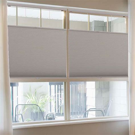 Bali Wood Blinds Cordless Top Down Bottom Up 1 2 Quot Single Cell Blackout