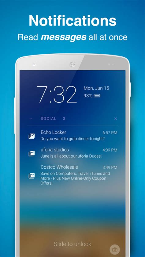 android lock screen notifications echo notification lockscreen android reviews at android quality index