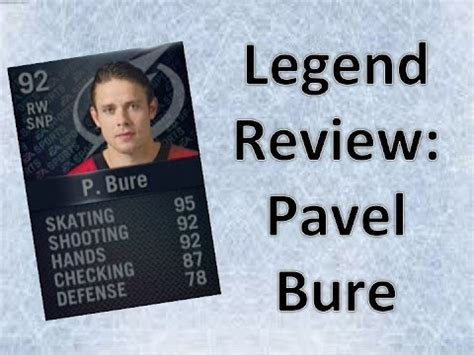 nhl 15 hut legend player review bure vs gretzky youtube nhl 15 in depth legend review pavel bure youtube