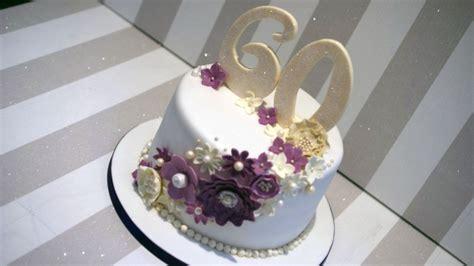 60th Wedding Anniversary Cake   Bakealous