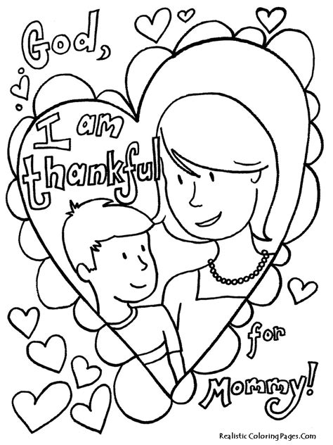 mothers day coloring pictures printable mothers day coloring pages realistic coloring