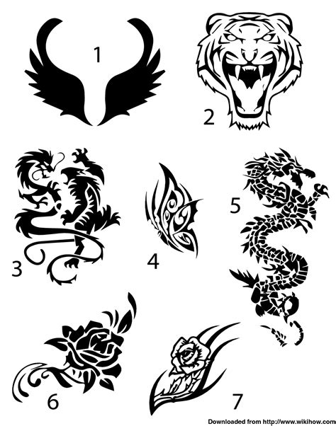 easy pen tattoos easy temporary draw your design on a of