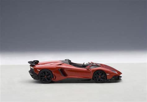 Autoart Lamborghini Autoart Lamborghini Aventador J Metallic 54651 In