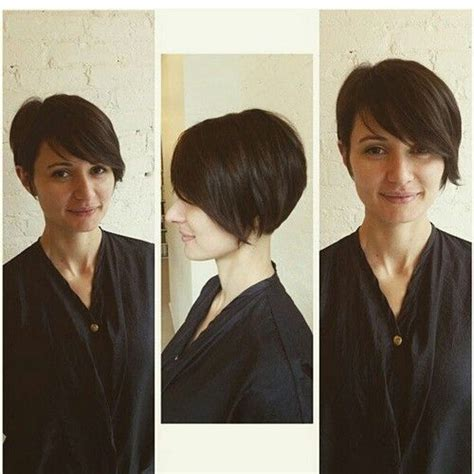 how to cut a asymmetrical bob on yourself 232 best images about pixie cut on pinterest amber