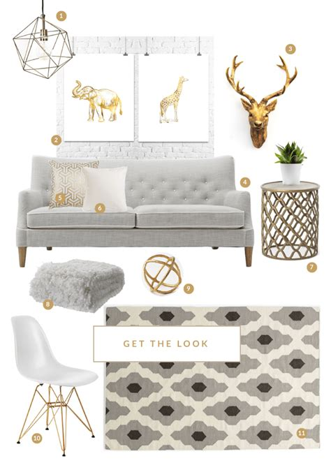 grey and gold desk colour crush grey white gold house of hawkes