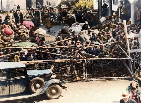 i colorized 13 fascinating colorized photos of refugees during world
