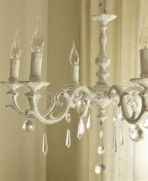 best 25 shabby chic chandelier ideas on pinterest