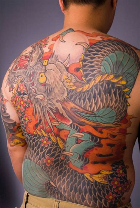 dragon tattoo at the back tattoos avenged back piece japanese dragon tattoo ideas