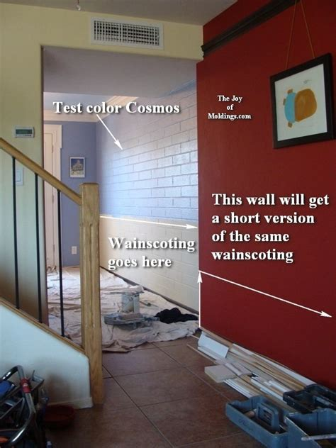 Wainscot Meaning by How To Install Wainscoting 109 For About 11 00 Ft Part 1