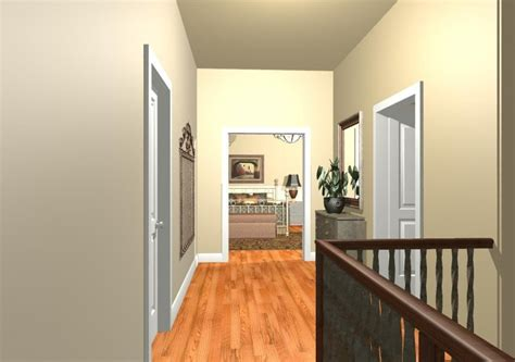 hall paint ideas wood and iron hall paint color ideas staircase