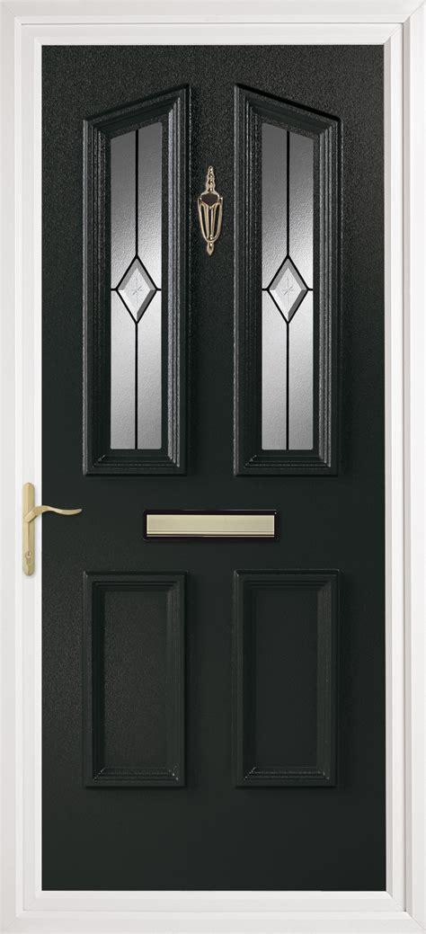 Black Pvc Front Door Pvc Doors Newcastle Upon Tyne Black Pvc Front Door
