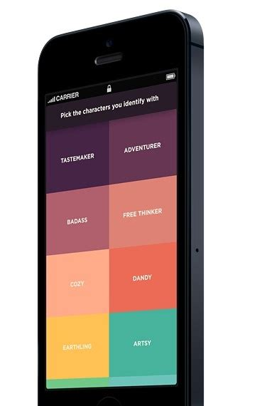 app layout grid 5 latest hottest mobile ui design trends for 2013 and beyond