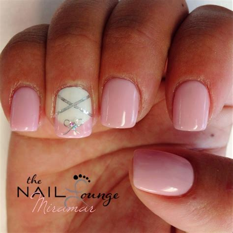 Baby Shower Nails by Baby Slippers Baby Shower Gel Nail Baby Shower