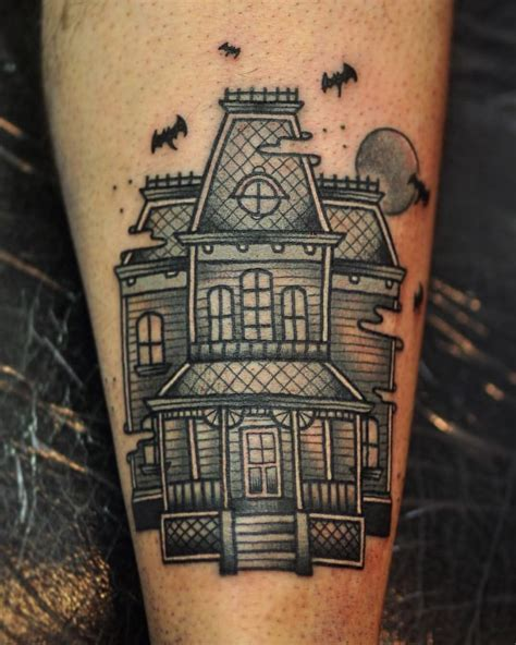 haunted mansion tattoo image result for haunted house