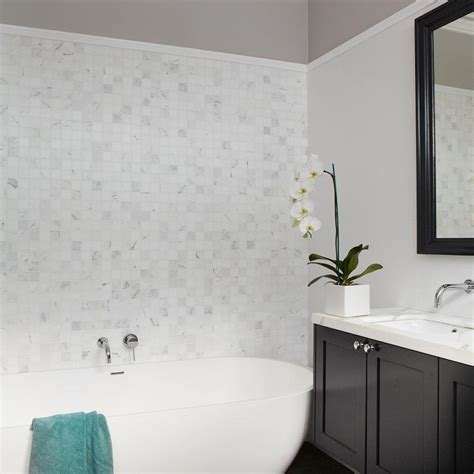 two wall bathtub bathroom two tone walls design ideas