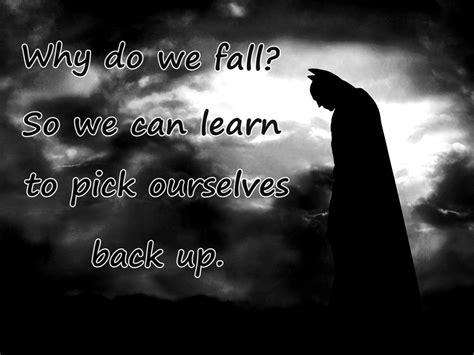 batman wallpaper why do we fall sad batman begins quotes quotesgram