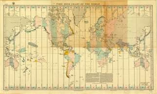 carte des fuseaux horaires du monde biblioth 232 que