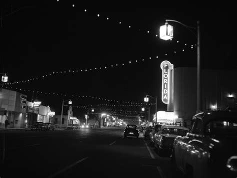 florida memory downtown christmas lights on monroe st
