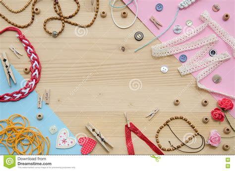 Things Handmade - set of elements for handicraft and decorative items for