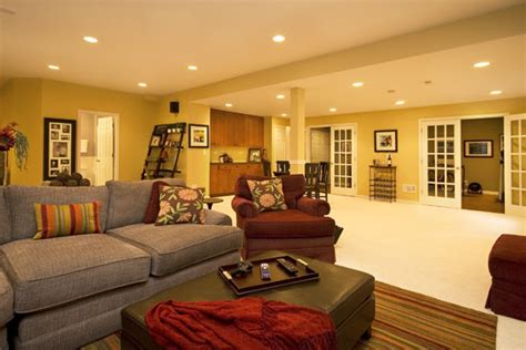 Finished Basement Decorating Ideas Modern Finished Basement Ideas Grezu Home Interior Decoration