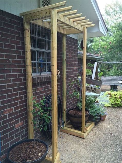 Cheap Fence Trellis Hometalk Inexpensive Garden Trellises