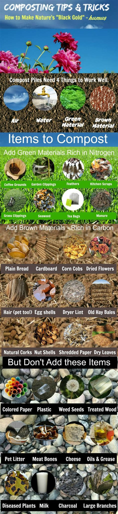 composting tips tricks  making mother natures black gold