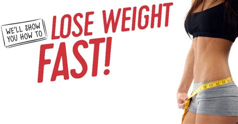 How To Shed Fast by How To Lose Weight Fast And Safely 4 Steps To Weight