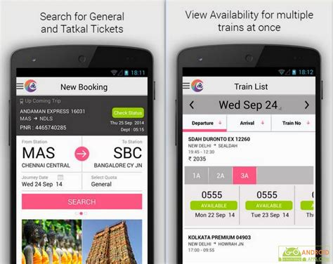 best booking app best booking app for android irctc mobile app