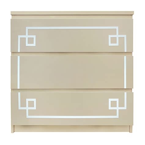 malm overlays o verlays pippa malm 1 kit ikea malm 3 drawer diy dresser