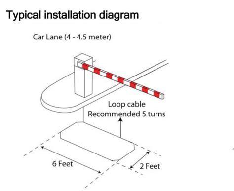 Two Relay Garage Door Opener Inductive Loop Vehicle