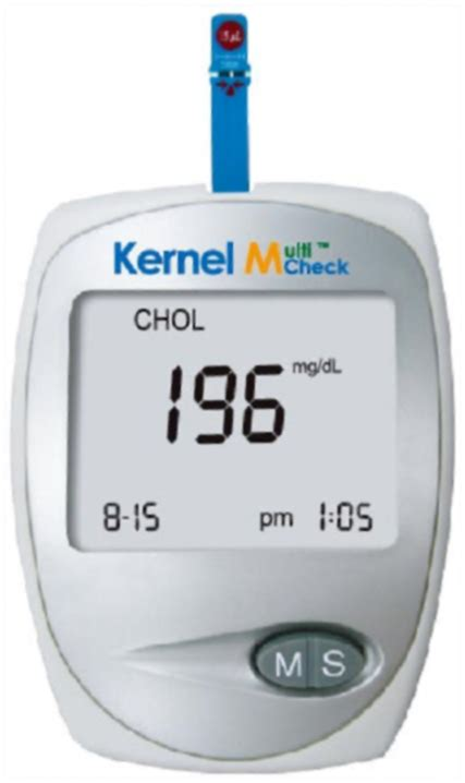 Cholesterol Meter index of product