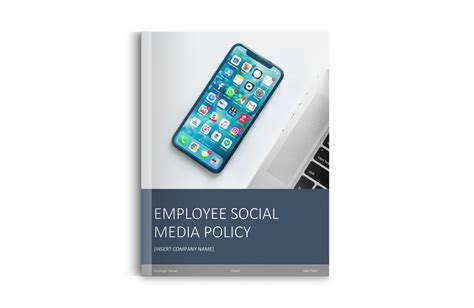 employee social media policy template free template free social media policy template