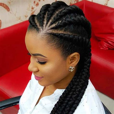 beautiful black women short hairstyle with sideburns gallery 21 best protective hairstyles for black women stayglam
