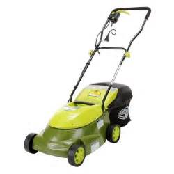 home depot lawnmowers sun joe 14 in 12 lawn mower electric mj401e the