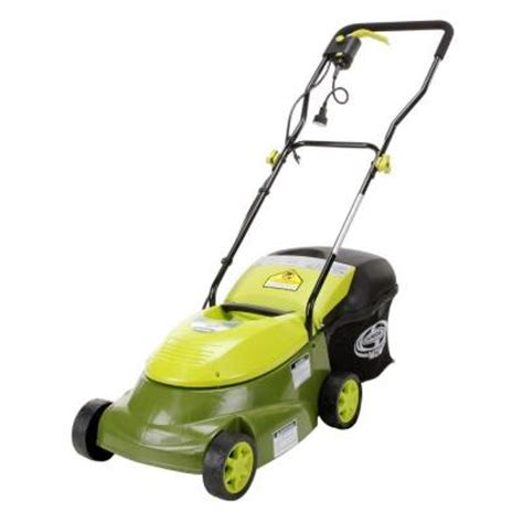 sun joe 14 in 12 lawn mower electric mj401e the