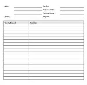 delivery checklist template delivery order template 14 free excel pdf documents