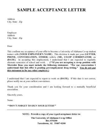 pre protocol letter template 9 best images about acceptance letters on high