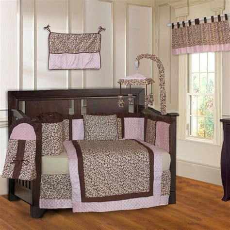 Animal Print Crib Set by Animal Print Crib Bedding Sets For